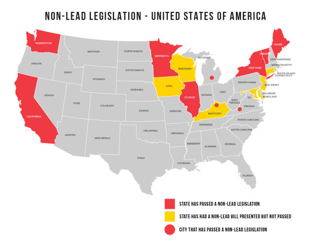 non-lead-legislation-usa
